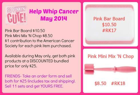 Will You Help Whip Cancer?