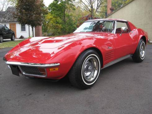 1972 Stingray Corvette