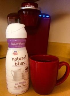 I only use Coffee-mate Natural Bliss